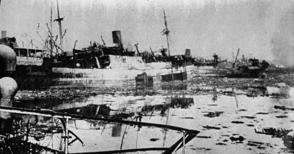 The day it rained gold and death in Bombay: Rare footage of the 1944 dock explosion