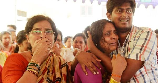 Chilling footage comes to light of Hyderabad students washed away in Himachal