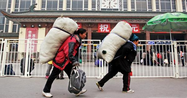 Indian and Chinese migrants make up nearly one per cent of the world's population