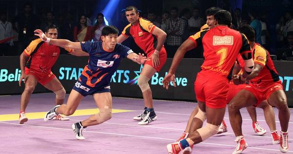 On the mysterious foreigners who somehow play kabaddi