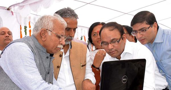 Quick to start, new Haryana CM pushes out bureaucrats seen as close to Congress predecessor