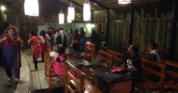At Bangalore's Ranga Shankara, café owner serves up akki roti and theatre criticism
