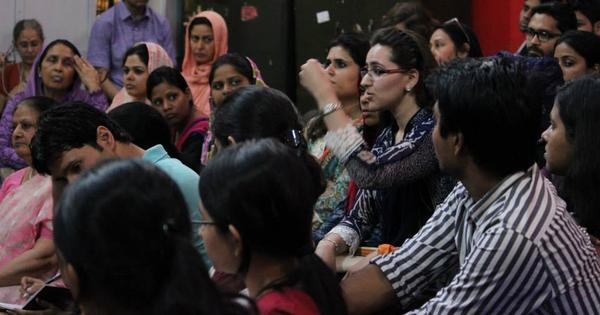 Aligarh Muslim University women should not back down just because BJP has taken up their cause