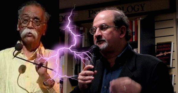Trashed by Jnanpith winner Nemade, Salman Rushdie hits back (without mincing his words)