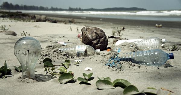 Eight million tonnes of plastic are going into the ocean each year