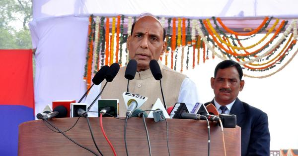 Opposition to Modi's land acquisition bill brings Rajnath Singh out of the wilderness