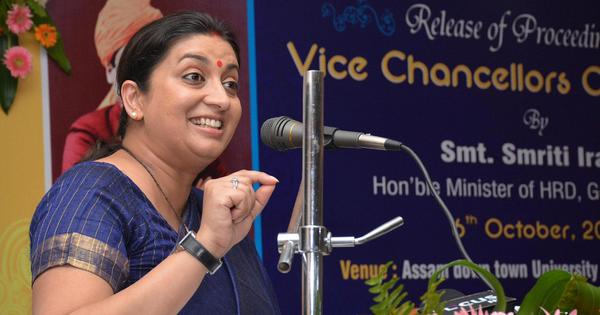 No, Smriti Irani is not wasting your money on the IITians