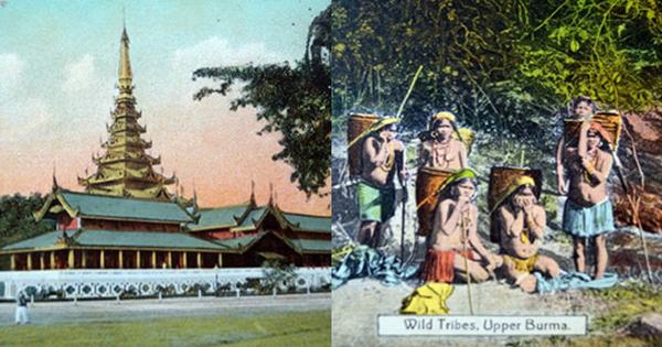 Do you feel jealous, old girl? Personal histories and postcards from Burma