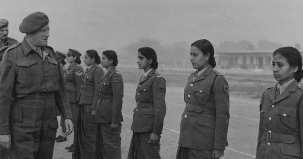 Rare photographs of the women who joined the Indian army in World War II