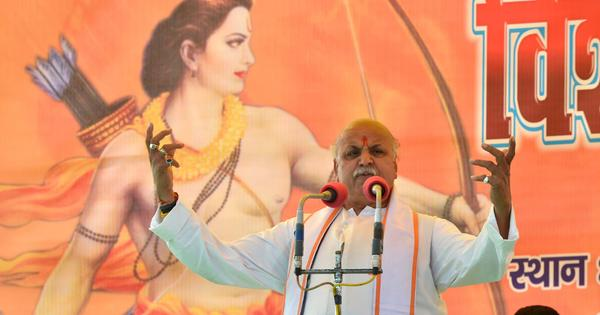 Why are Ayodhya sadhus opposing Togadia's demand for the BJP to build a Ram temple?