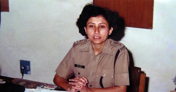 Before Sanjukta Parashar, there was another gritty female cop from Assam