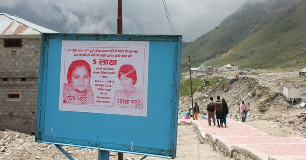 Two years after Uttarakhand floods, pilgrims return – as do people in search of missing loved ones