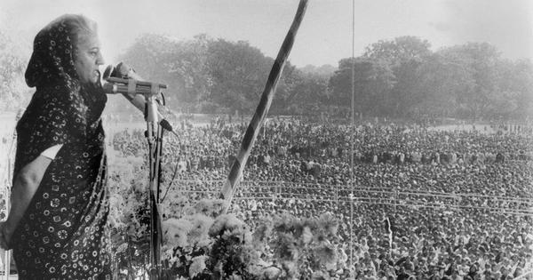 In media's Emergency analyses, Indira stood as proxy for anxieties about Narendra Modi