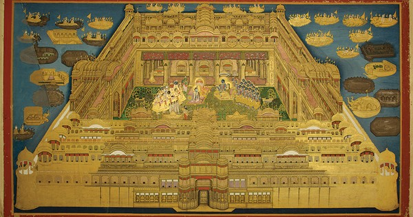 Images: Krishna wearing a scarf to battle the cold and other treasures from the Jaipur court