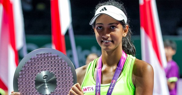 Meet the 17 year old from Delhi who's causing waves in junior tennis