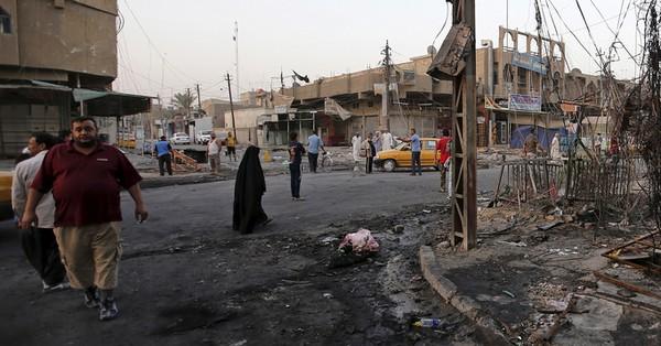 Iraq car bombings kill at least 57