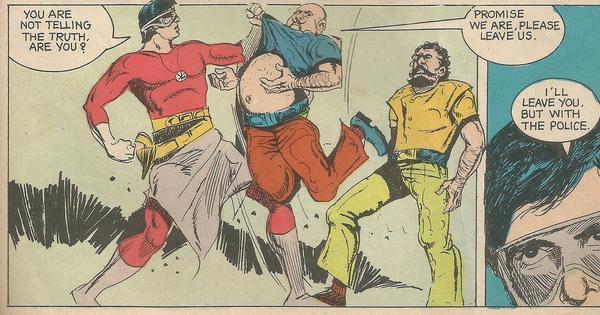 When Amitabh Bachchan was the comic book hero Supremo
