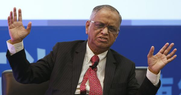 Infosys founder Narayana Murthy joins the chorus expressing anxiety about intolerance