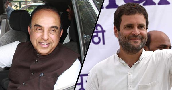 National Herald irony: BJP's Subramanian Swamy claims he is fighting Sonia on behalf of Congress