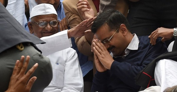 AAP will implement Anna Hazare's suggestions on Janlokpal Bill, says Arvind Kejriwal