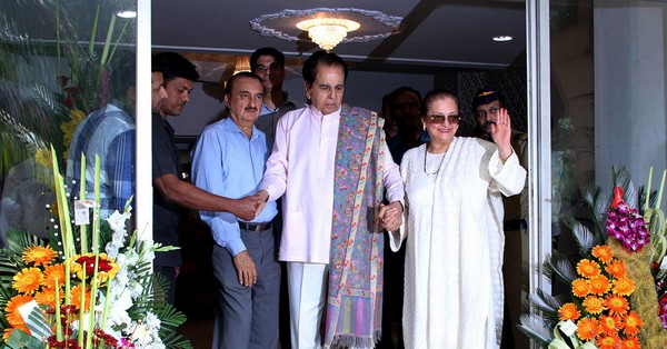 Dilip Kumar receives Padma Vibhushan