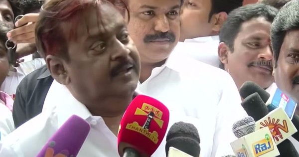 DMDK leader Vijaykanth's spitting at a journalist needs a fitting response: Introspection