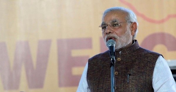 Narendra Modi asks Congress to take New Year's resolution of not disrupting Parliament