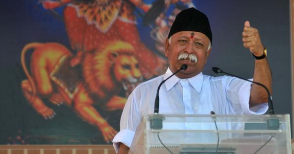 Is RSS planning to take leadership of the Ayodhya movement from VHP?