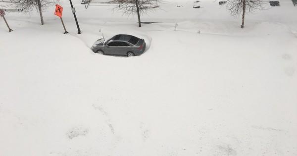 [Photos] On the US East Coast, snow, snow, snow, everywhere you look