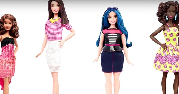 Barbie gets a makeover, new dolls will have  different body types, hair and skin colour