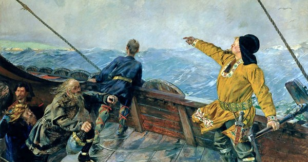 Did the Vikings use crystal 'sunstones' to discover America?