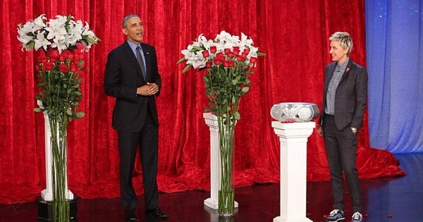 Have you seen the Obamas deliver televised Valentine's Day messages to each other?