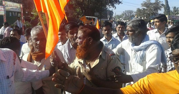 Was the attack on a Muslim cop in Latur a communal incident?