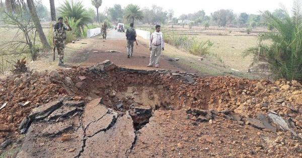 Seven CRPF personnel killed in landmine blast in Chhattisgarh's Dantewada district