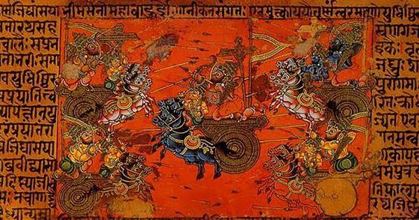 The Mahabharata: How an oral narrative of the bards became a text of the Brahmins
