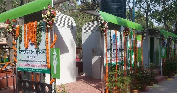 Swachh Bharat's urban-toilet plan is running 76% behind schedule