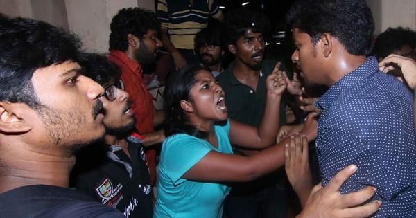 At Kolkata's Jadavpur University, ABVP is repeating the formula for chaos it used at JNU, Hyderabad