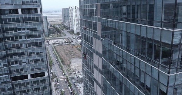 Watch: Professional rock climber scales 33-storey skyscraper using... two vacuum cleaners