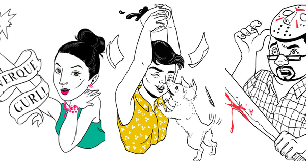 An Indian illustrator is taking doodle requests from Twitter and spreading cheer in return