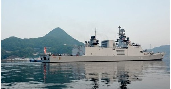 India begins Malabar naval exercise with US and Japan close to South China Sea