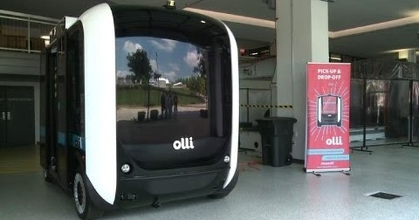 Watch: Olli, a 3D-printed self-driving minibus that carries 12 and can be summoned with an app