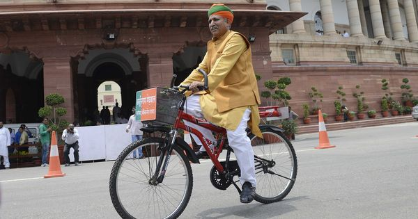 India's new minister of state for finance loves cycling, yoga and Modi – but can't stand homosexuals