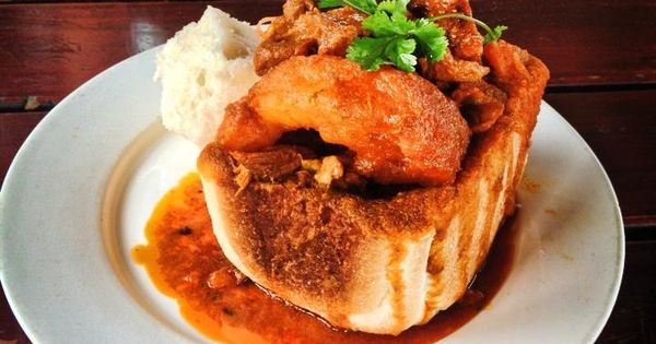 This Indian restaurant in Durban may have invented the city's popular street-food dish – bunny chow