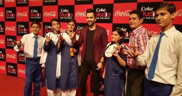 'Coke Studio for the Deaf' will change the way you think about music