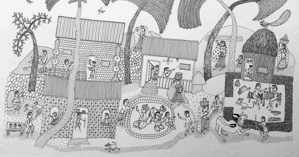 Jogi art: The folk form developed and practised by a single family