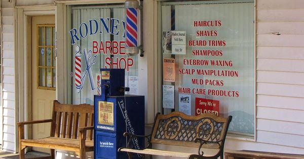 Why the barbershop is vanishing in the US