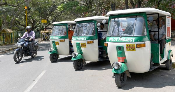 A new solar rickshaw offers freedom from fumes