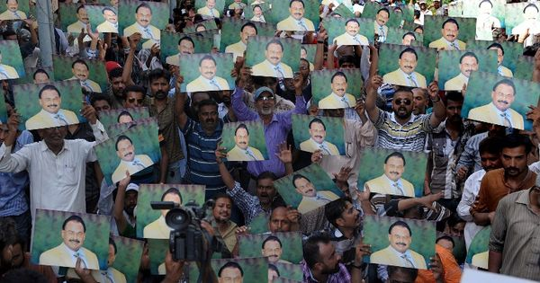 Is Pakistan witnessing the fall of Altaf Hussain, who lords over Karachi all the way from London?
