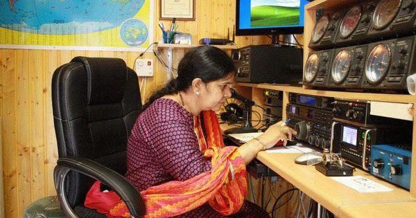 Women hams ride the radio wave in India