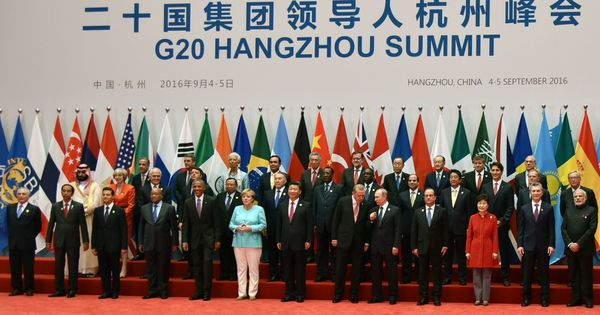 This one picture from the G20 summit perfectly sums up how global politics is an old boys club